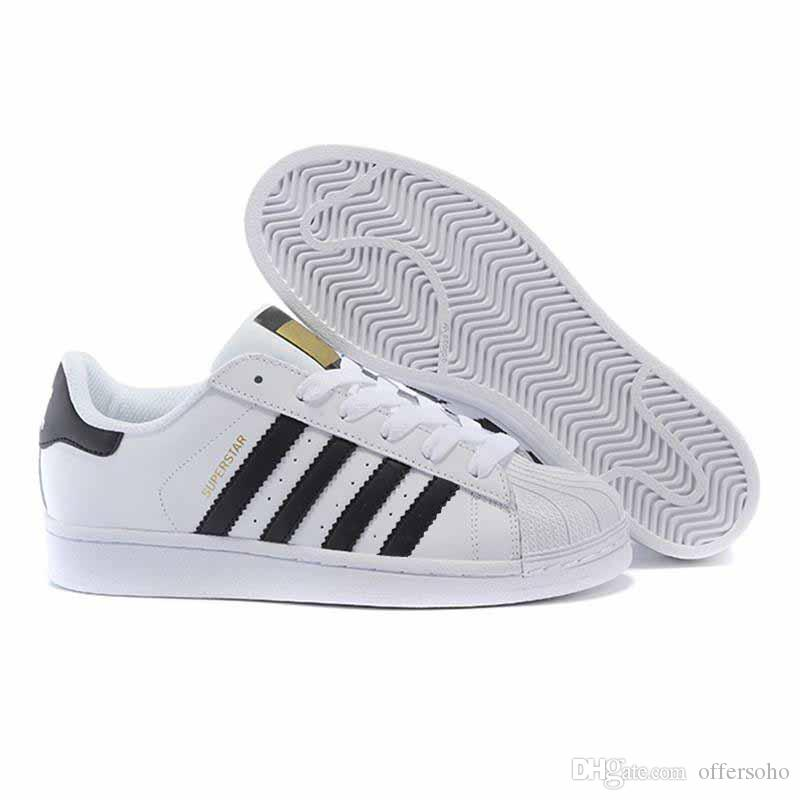 2018 new mens smith Casual shoes Superstar Female Flat Shoes Women Zapatillas Deportivas Mujer Lovers Sapatos Femininos shoes 36-44