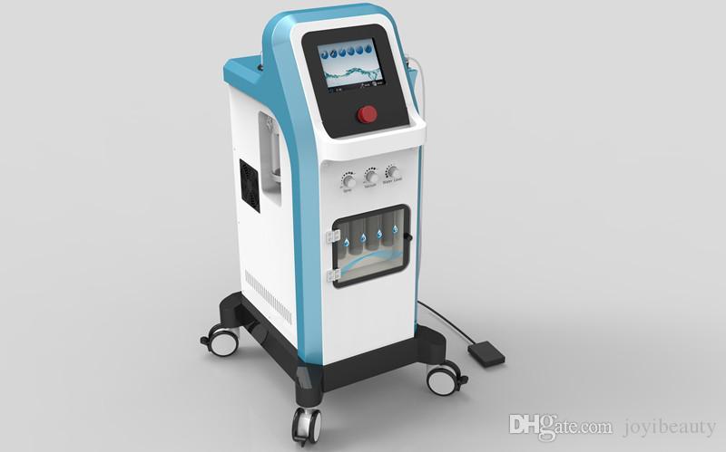 2019 Máquina de Dermoabrasão Hydra Hydrafacial Jato De Oxigênio Da Pele Da Pele Facial Renovação Face Lift Aperto Hidrodermabrasão Spa Equipamentos de Beleza