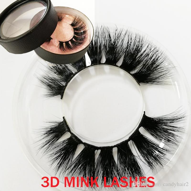 Beauty False Eyelashes Top quality 100% 3d Mink eyelash handmade wholesale product Private lable big eyes secret GR250