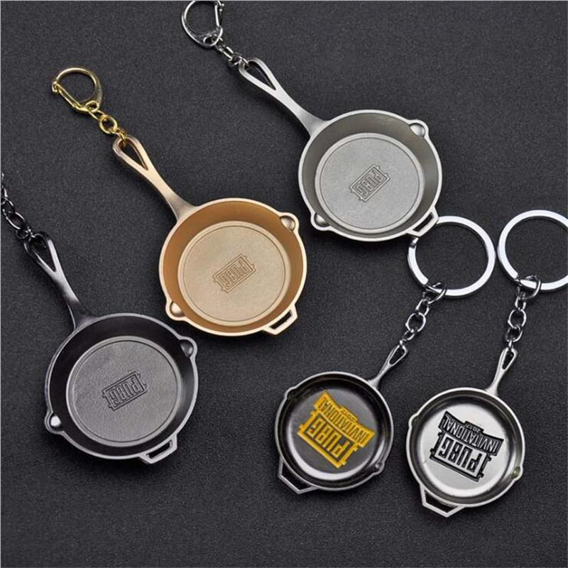 2019 Hot Pubg Game Pan Keychain Car Key Chain Playerunknowns Battlegrounds Key Rings Game Jewelry For Gift From Moviejewellry 289 Dhgatecom