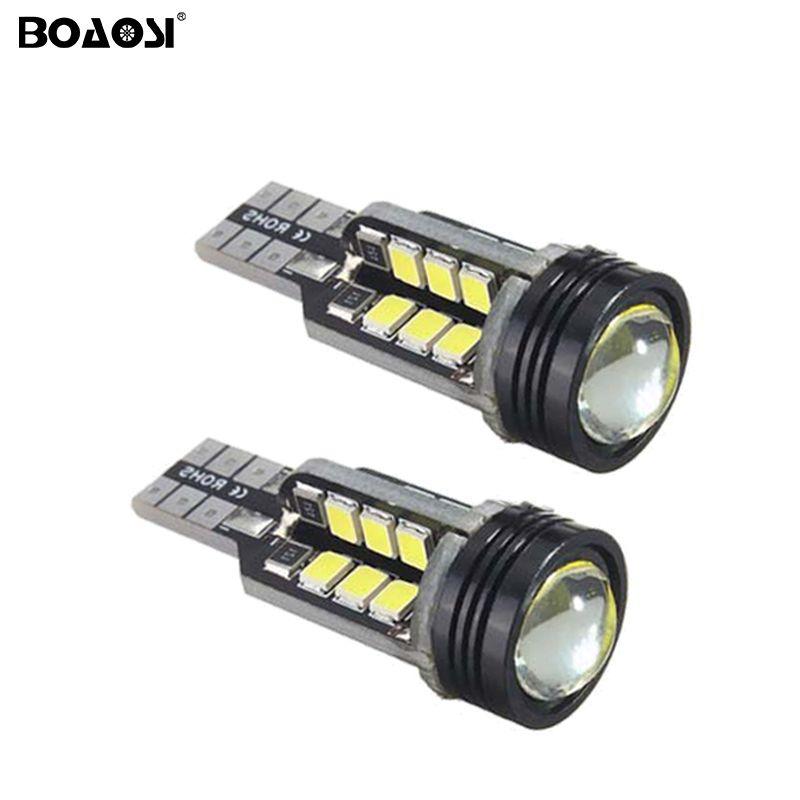 Nouveau Canbus 10 W T15 912 921 W16W LED Inverser les Lumières W16W 24SMD Voiture LED AUCUN ERREUR Lumière de secours Parking Lampes Ampoules
