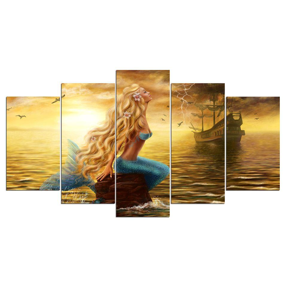 4L Bild auf Leinwand Bilder Kunstdruck Wandbild Poster Still waters