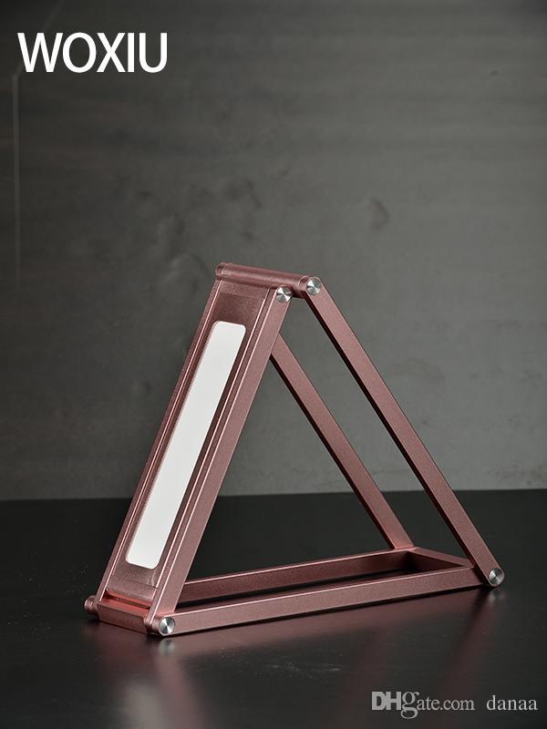 WOXIU lampada da tavolo a led stile moderno cambia modello Pareti sospese Metti il telefono facile da trasportare illuminazione esterna Colori rosa argento oro