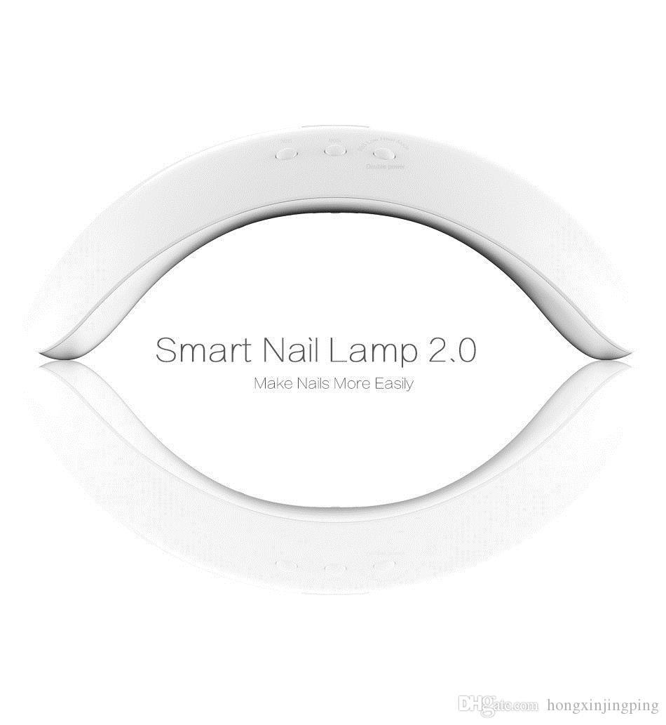 SUNUV SUN8 LED Prego Secador 48 W Lâmpada Para Manicure Único Modo de Baixo Calor Unhas de Gel Secador De Cabelo Para Unha Polonês Ferramentas de Arte