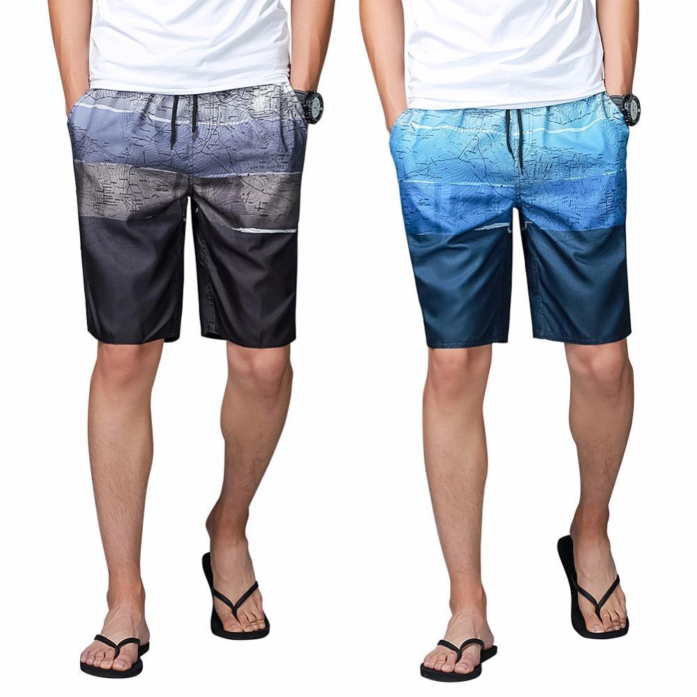 الرجال سريعة الجافة جذوع السباحة جذوع تصفح مجلس السراويل الذكور الصيف الرياضة السباحة الملاكم السراويل ملابس الشاطئ ارتداء زائد حجم l-4xl