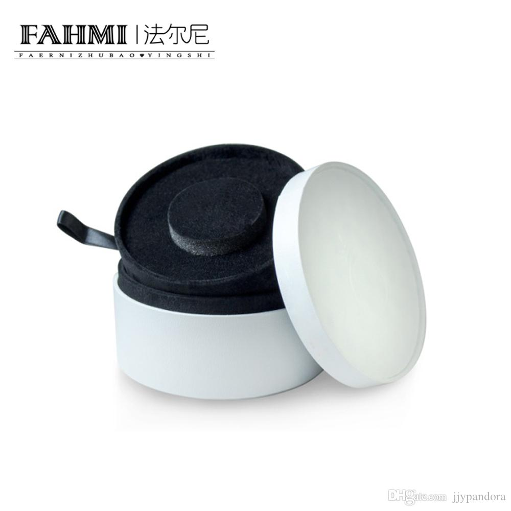 FAHMI Original Charm Bague Bracelet Boucles D'oreilles Collier Multi-Fonction Roun Sstorage Boîte De Protection Bijoux Atmosphère Mode