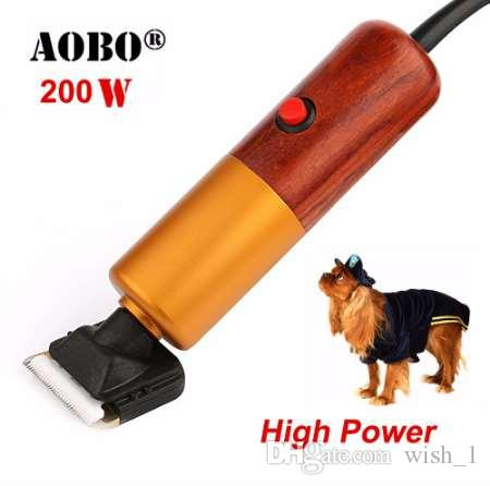 200W المهنية السلطة العليا الحيوانات الأليفة المتقلب الكلب حلاقة الأرانب الماشية آلة الحلاقة الحيوانات الأليفة الاستمالة الكهربائية الشعر المقص آلة