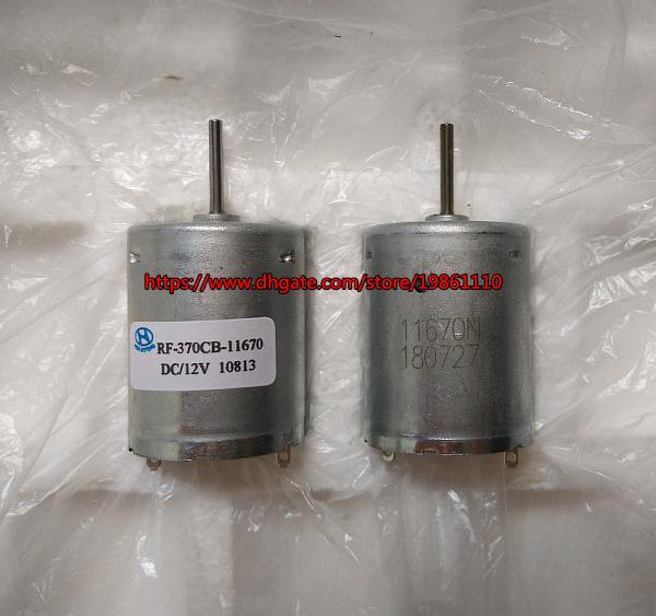 브랜드 새로운 12V 마이크로 DC 모터 RF-370CB-11670 12V 3000RPM 슬로우 스피드 저소음 모터 ~