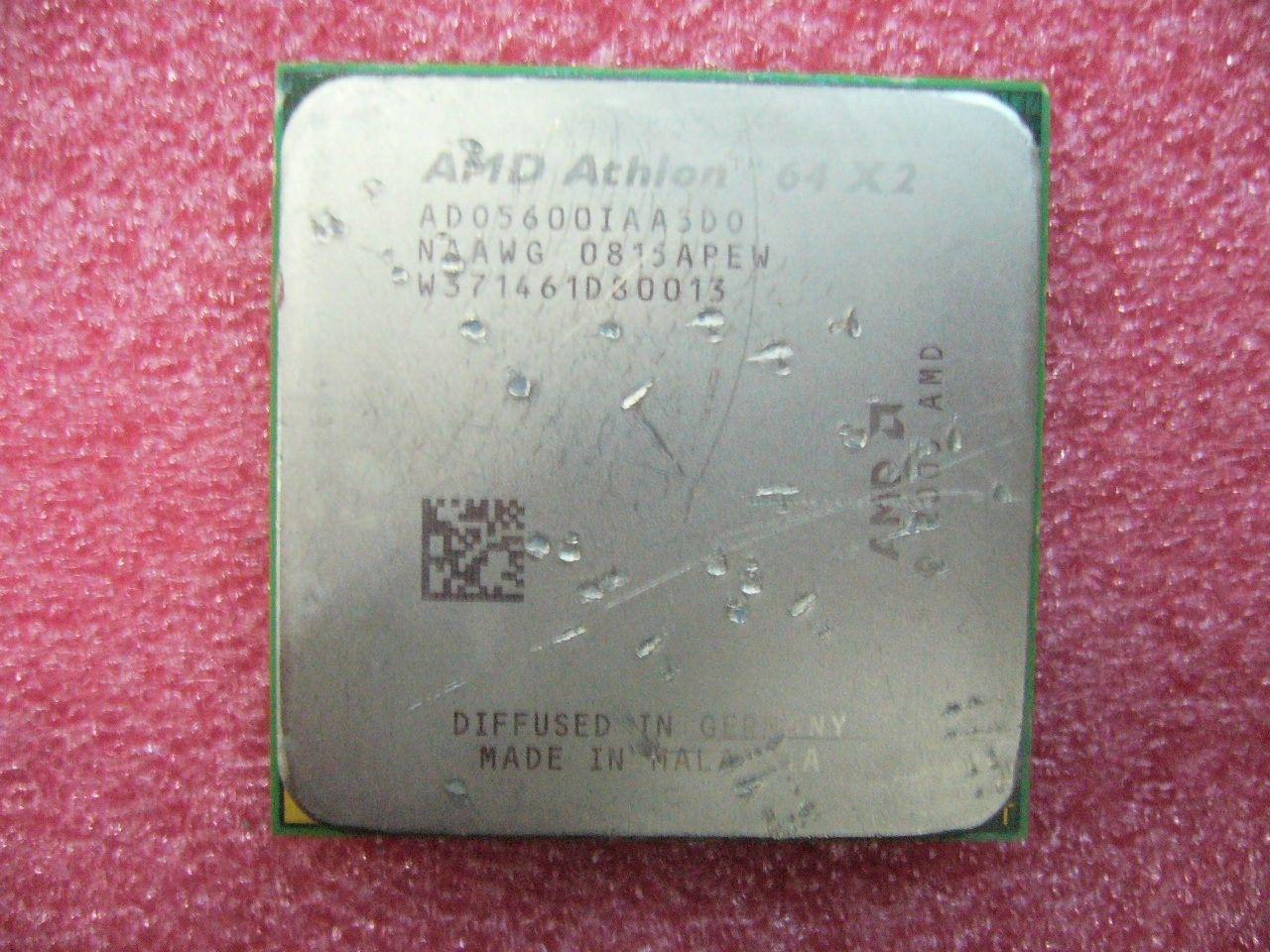 QTY 1X AMD Athlon 64 X2 5600+ 2.9 GHz ثنائي النواة (ADO5600IAA5DO) مقبس وحدة المعالجة المركزية AM2