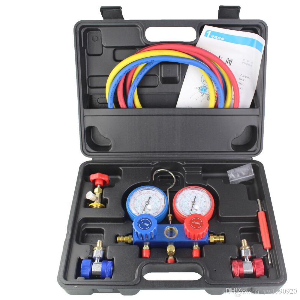 Air Conditioning Tools >> R134a Refrigeration Air Conditioning Ac Diagnostic Manifold Gauge Tool Fits For R134a R410 R22 Canada 2019 From Yw1990920 Cad 94 44 Dhgate Canada