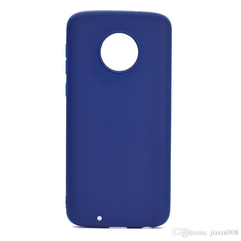 Şeker Renk Kılıf Motorola Moto G6 Artı Kapak Yumuşak TPU Ultrathin Mobie Moto G6 Artı Için Telefon Kılıfları Capinha