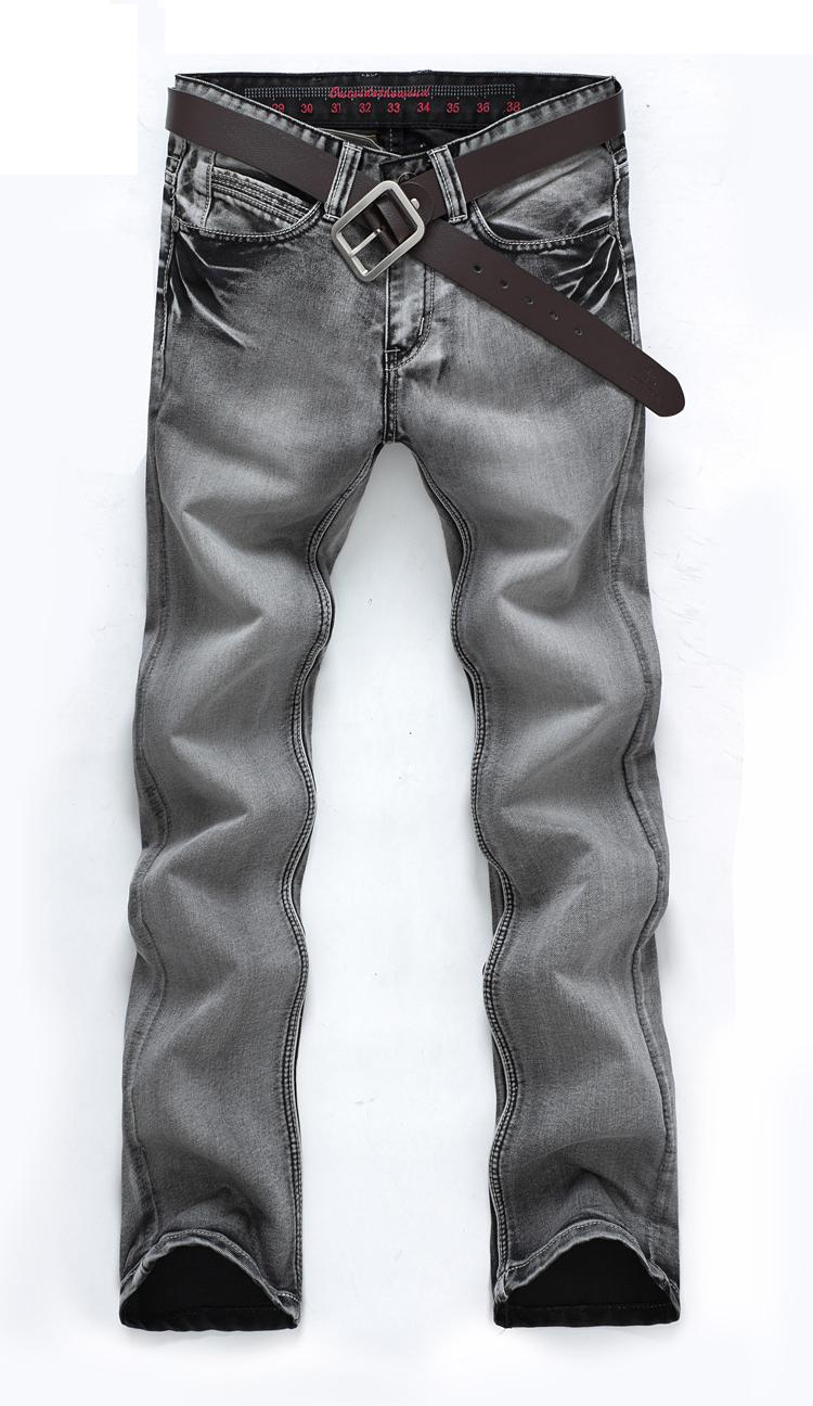Jeans da uomo Classic Retro Nostalgia Jeans dritti in denim Uomo Plus Size 28 -38 Uomo Pantaloni lunghi Pantaloni Marca Biker Jean