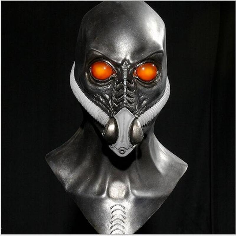 Masque gaz accessoire robe fantaisie Toxic Zombie Halloween Prop