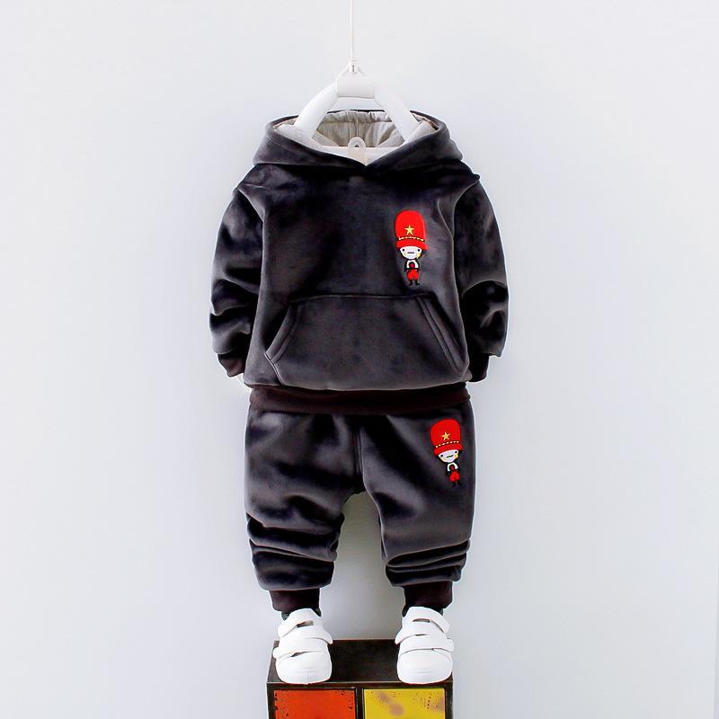 Varejo Roupas Infantis Hoodies Inferior 2 Pcs Set Conjuntos de Roupas de Bebê Menino Meninos Roupas de Outono