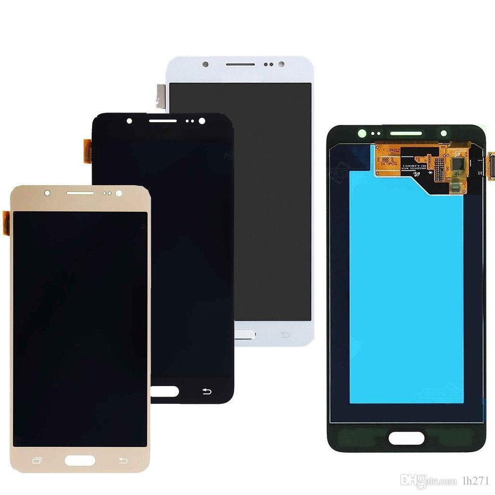 Samsung Galaxy için J5 2016 SM-J510F J510FN J510M J510Y J510G J510 LCD Ekran + Dokunmatik Ekran Digitizer Meclisi
