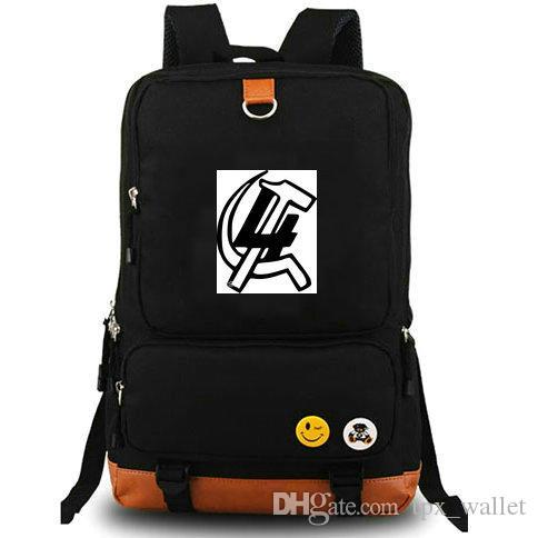 4 mochila A frente internacional mochila Daybag Partido crachá mochila Mochila Casual saco de escola Esporte dia pacote Ao Ar Livre