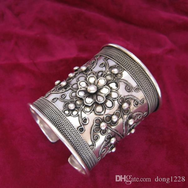 Miao Xiang Dong Zhai] Yang Liping Armband mit dem gleichen Armband handgemachte Miao Silber Seidenarmband versandkostenfrei