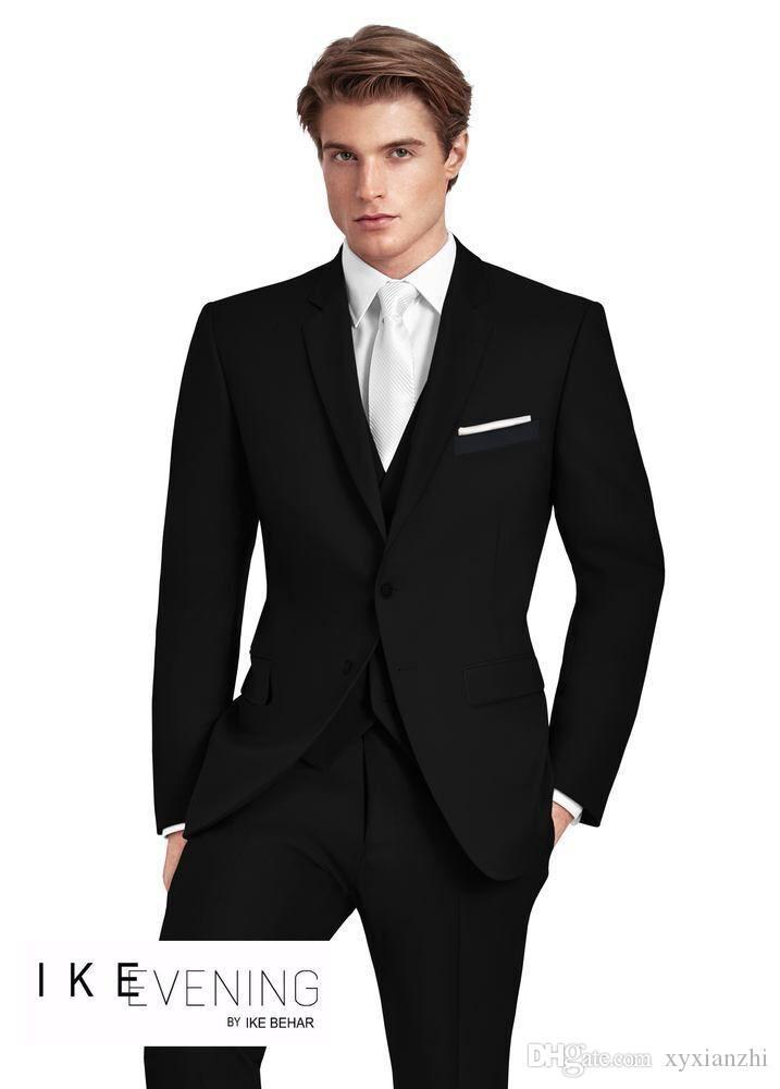 Ismarlama Erkek Düğün Smokin Için Takım Elbise Smokin Damat Giymek Yüksek Kalite 3 Parça Elbise Takım Elbise Slim Fit