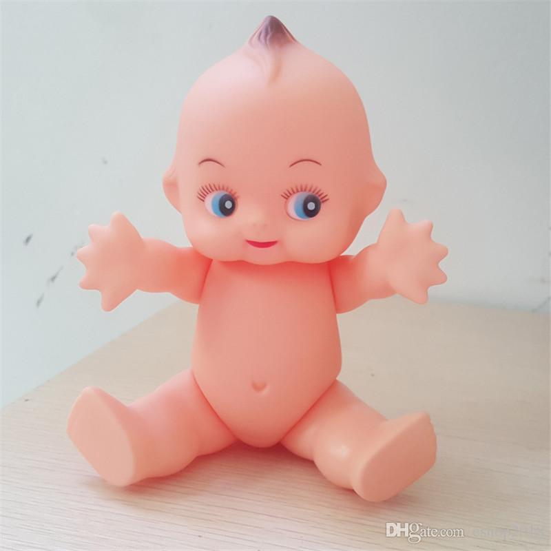 16cm nueva linda muñeca de la vendimia Kewpie Modelo de la muñeca Los niños de cumpleaños regalo de la muchacha la decoración del hogar Simulación bebé recién nacido