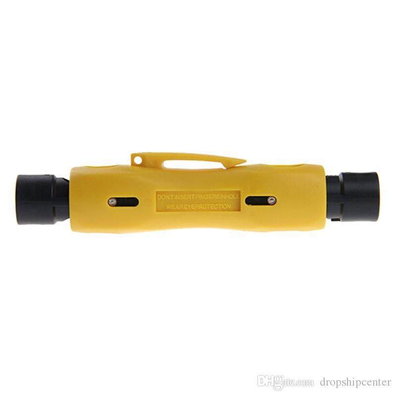 Multi-functional Coax Cable Wire Pen Cutter Stripper Tool for RG59 RG6 RG7 RG11
