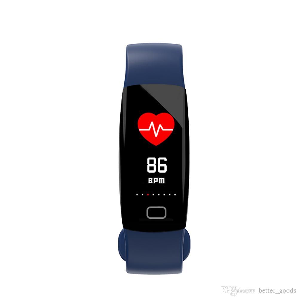 الأكسجين ضغط الدم مراقب الذكية سوار الدم سمارت ووتش رصد معدل ضربات القلب الذكية ساعة اليد للياقة البدنية المقتفي WatchFor الروبوت فون