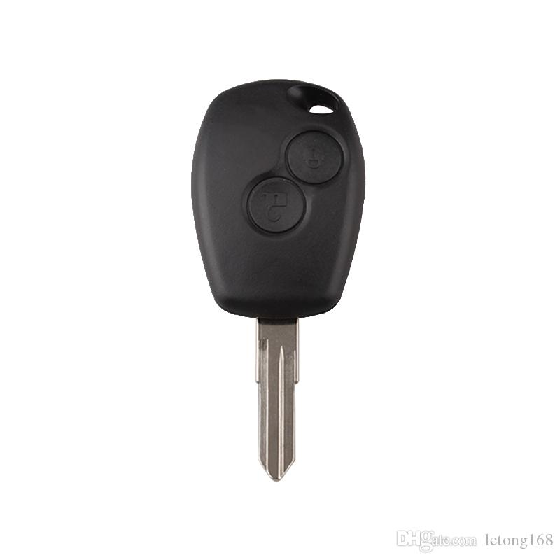 2Buttons 433MHz Remote Key For Renault Vivaro Movano Traffic Master Replacement Car Key Fob PCF7946 Chip VAC102 Blade