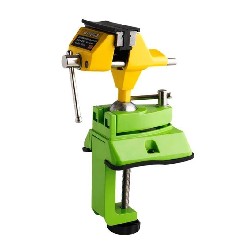 Freeshipping الجدول الملزمة العالمي البسيطة الجدول الملزمة سبائك الزنك 360 درجة مقعد المشبك أدوات طاولة العمل قوس ثابت آلات النجارة