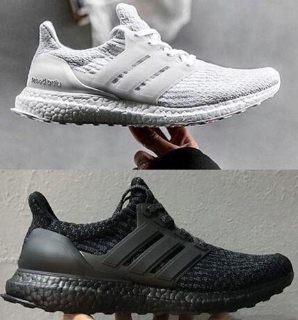 2019 Ultra boost 3.0 мужчины Повседневная обувь лучшее качество Ultraboost Oreo серый дизайнерская обувь женская спортивная обувь размер 40-45