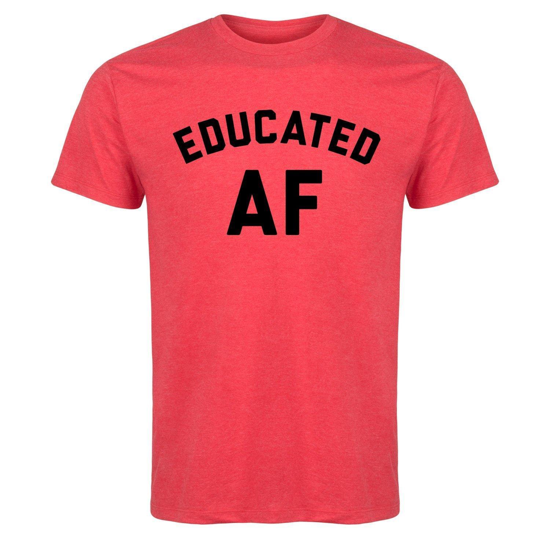Descuento de venta al por mayor educado - Camiseta de manga corta para hombre Camiseta fresca de algodón Diseño 3d Camisetas Nueva camiseta de moda Camiseta gráfica Ropa suelta