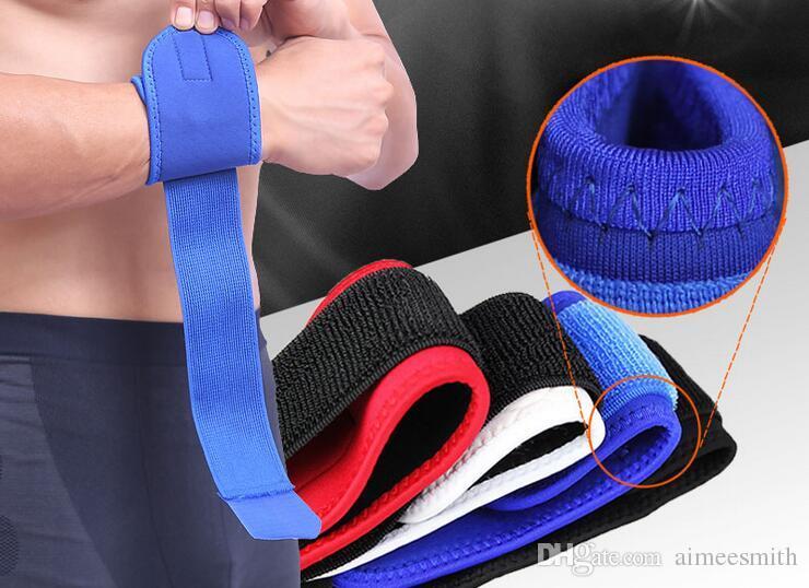 Brazales deportivos elásticos Codo Equipo de protección Color Brazales Envoltura Vendajes Baloncesto Levantamiento de pesas Equipo de protección