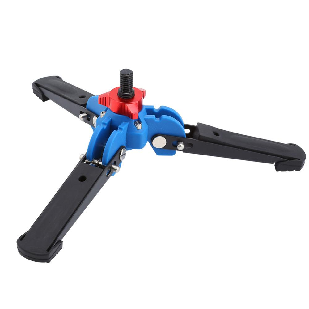 360 Degree Universal Stand Three Feet Support Stand Tripod Tripods Base for 3/8 Monopod Video Monopods Holders For Gopro Hero 5