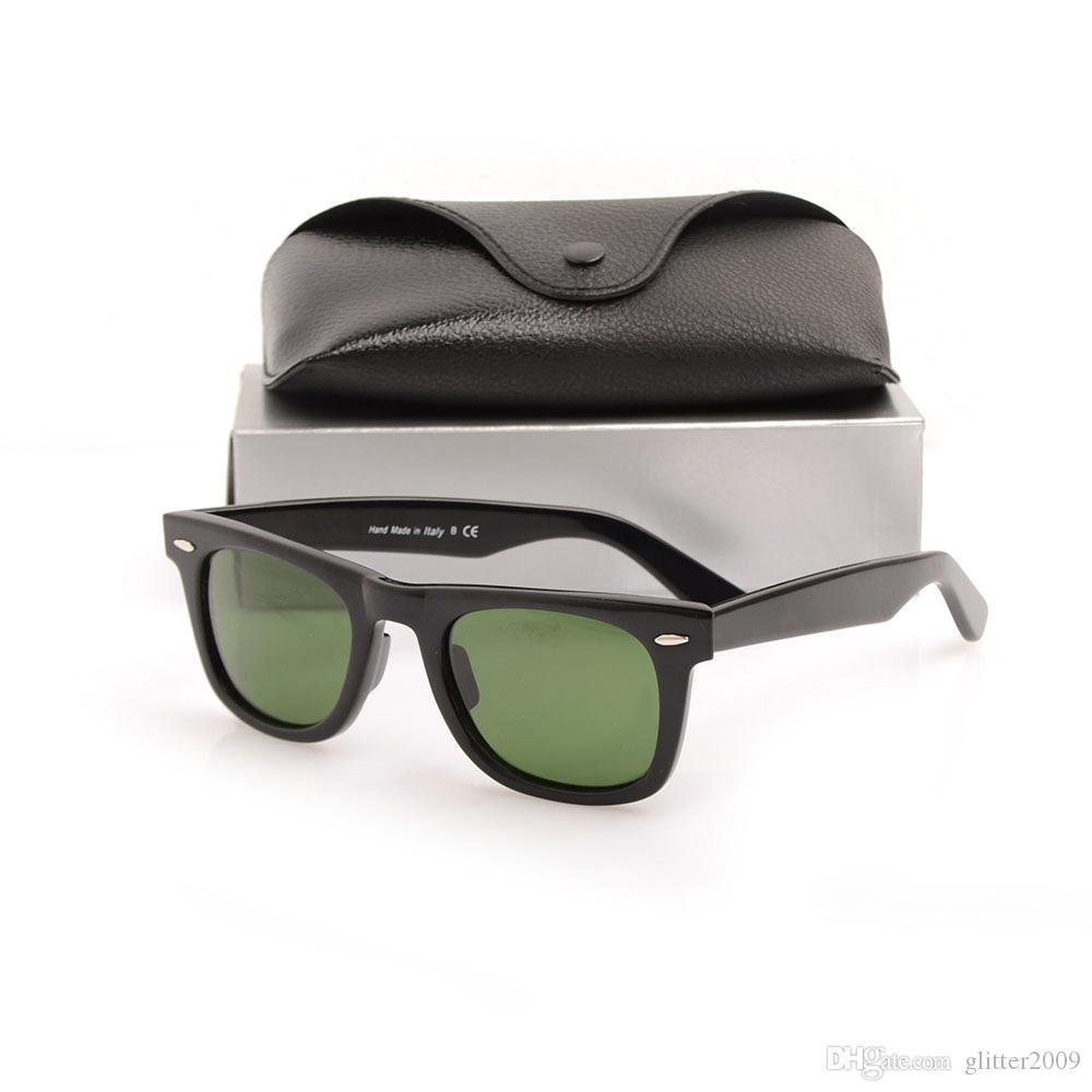 High Quality mens Brand sunglasses black Plank Sun glasses glass Lens womens Sun glasses Unisex glasses Classic beach sunglasses glitter2009