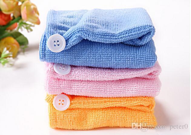 Высокое качество микрофибры магия волос сухой сушки тюрбан обернуть полотенце Hat Cap Quick Dry сушилка ванна макияж полотенце