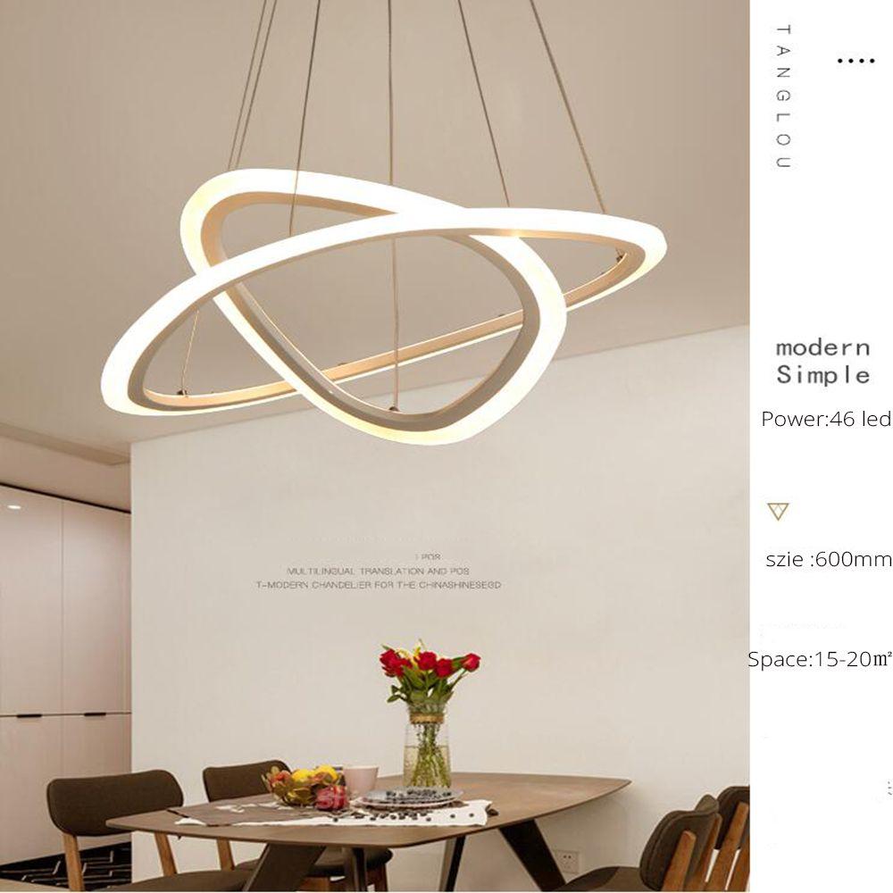 Acheter Lustre Moderne Conduit Pour Cuisine Salle A Manger Salon