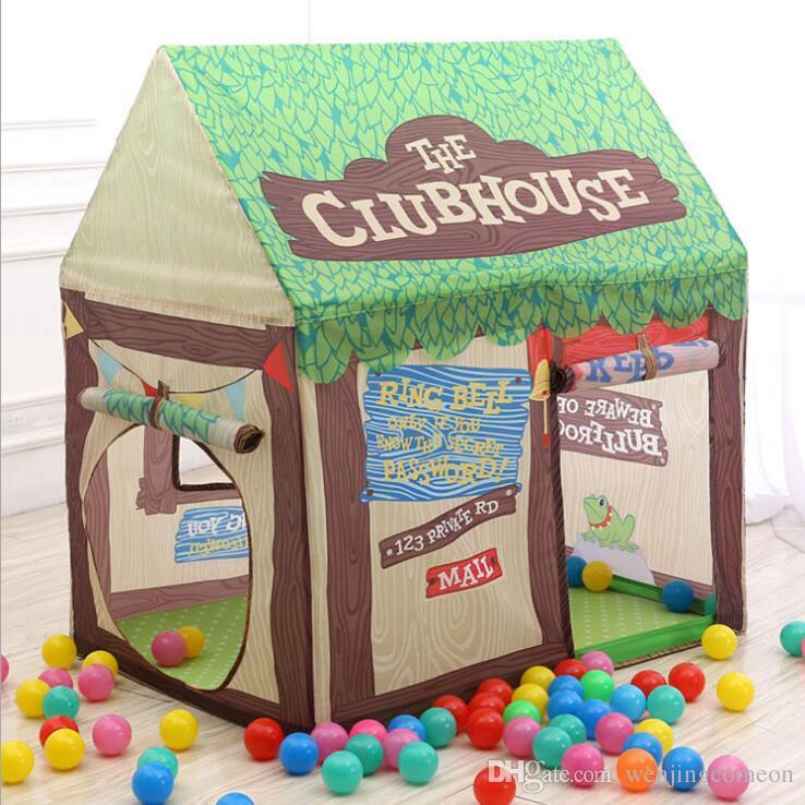 Children's Tents Portable kids tent DIY Playhouse Foldable Girl Princess Castle Indoor Outdoor Tents for children kids toys Bread shop
