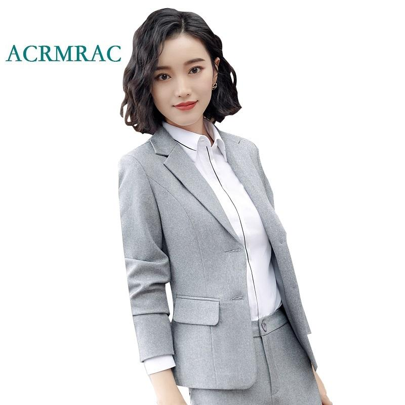 2019 professional price remains stable hot-selling professional 2019 ACRMRAC Women's Suit Set New Autumn And Winter Solid Color Slim Thick  Jacket Skirt Business OL Formal Skirt Suits From Blueberry07, &Price; | ...