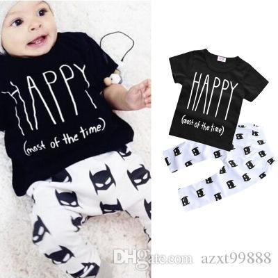 Großhandel 2018 Sommer Explosion Modelle Junge Baby Kleidung Kurzarm ...