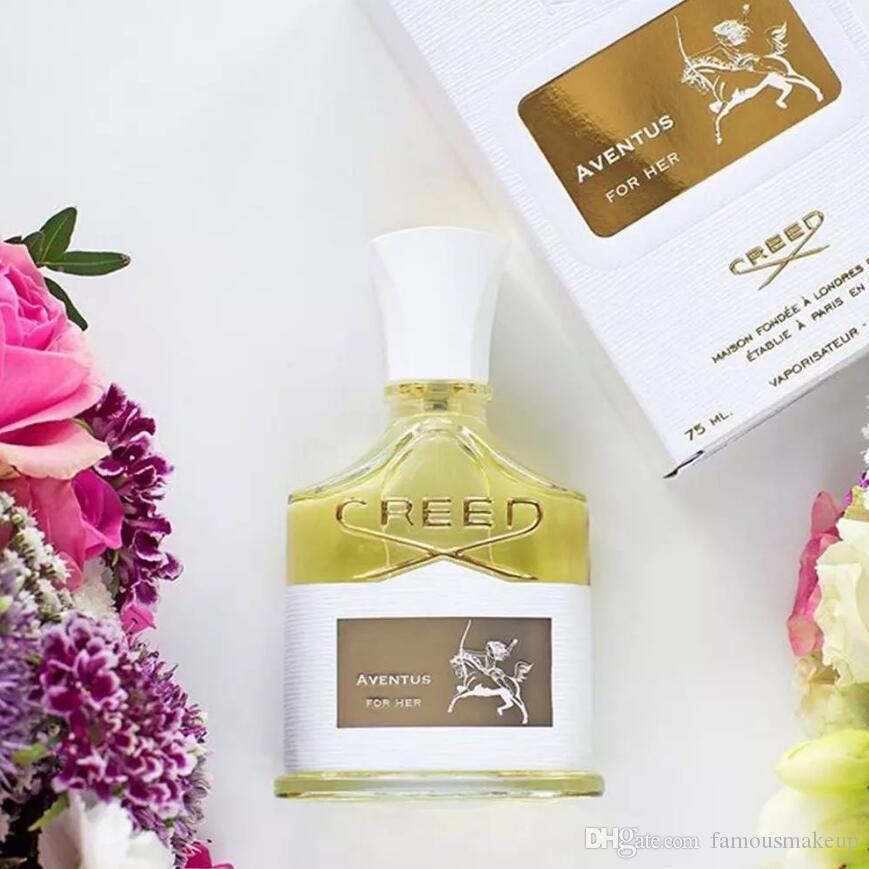 Top Qualité Creed Aventus pour son parfum 75ml pour les femmes durables longs parfums de fragrance rapide