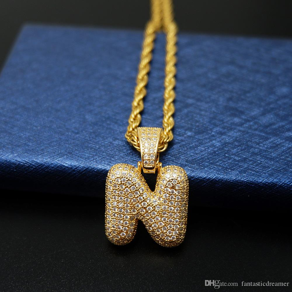 """HIP HOP ICED OUT LAB DIAMOND WHITE GOLD PLATED ALPHABET INITIAL /""""E/"""" PENDANT"""