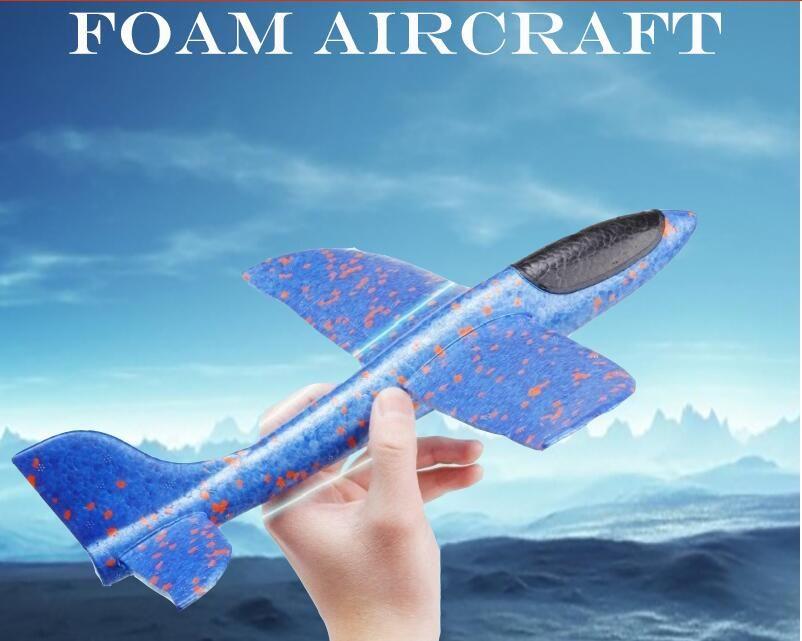 إطلاق اليد رمي الطائرات الشراعية بالقصور الذاتي رغوة إيفا طائرة لعبة الطائرة نموذج لعبة في الهواء الطلق ألعاب تعليمية هدية