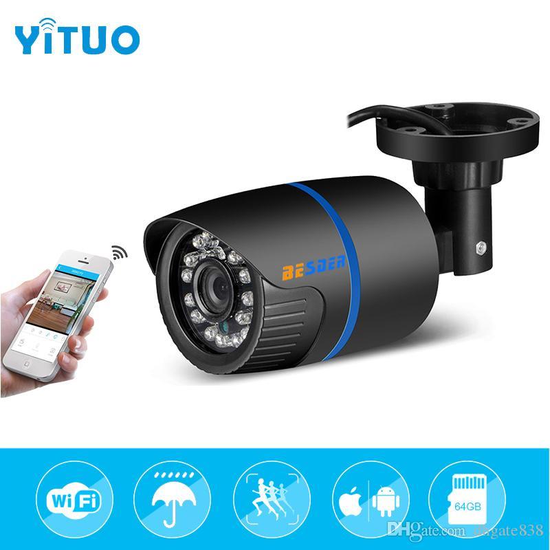 YITUO 3,6 мм Wi-Fi Ip-камера 1080 P 720 P E-mail оповещения XMEye ONVIF P2P Обнаружение движения RTSP 48 В POE наблюдения CCTV Открытый