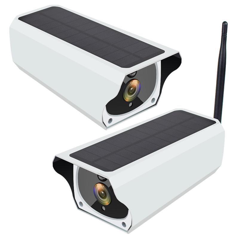 2MP 1080P واي فاي الطاقة الشمسية شبكة IP الدوائر التلفزيونية المغلقة الأمن كاميرا 64GB TF بطاقة H.264 الملكية الفكرية الكاميرا