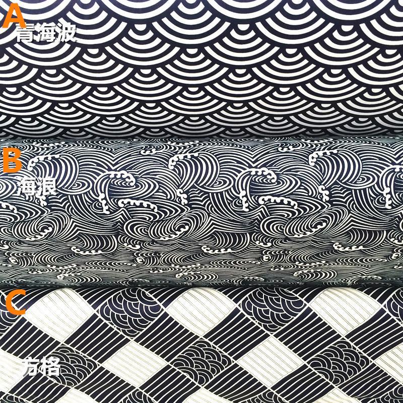 160 centímetros * 50 centímetros japonês da tela do estilo patchwork para toalha de mesa de costura linhos vestidos cortinas scrapbooking tecido para móveis