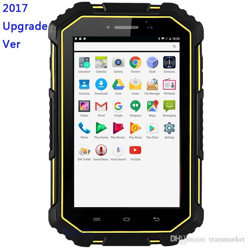 M16 Waterproof ip67 Android 6.0 Tablet PC 4G Lte 2GB RAM 16GB ROM GPS MTK6732 Waterproof Dustproof Phone 7000 Battery 13MP Quad core Dual SI