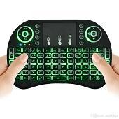 Новая Fly Air Mouse 2.4G Mini RII I8 Беспроводная клавиатура с подсветкой Red Green Blue Пульты дистанционного управления для MXQ S905X S912 TV