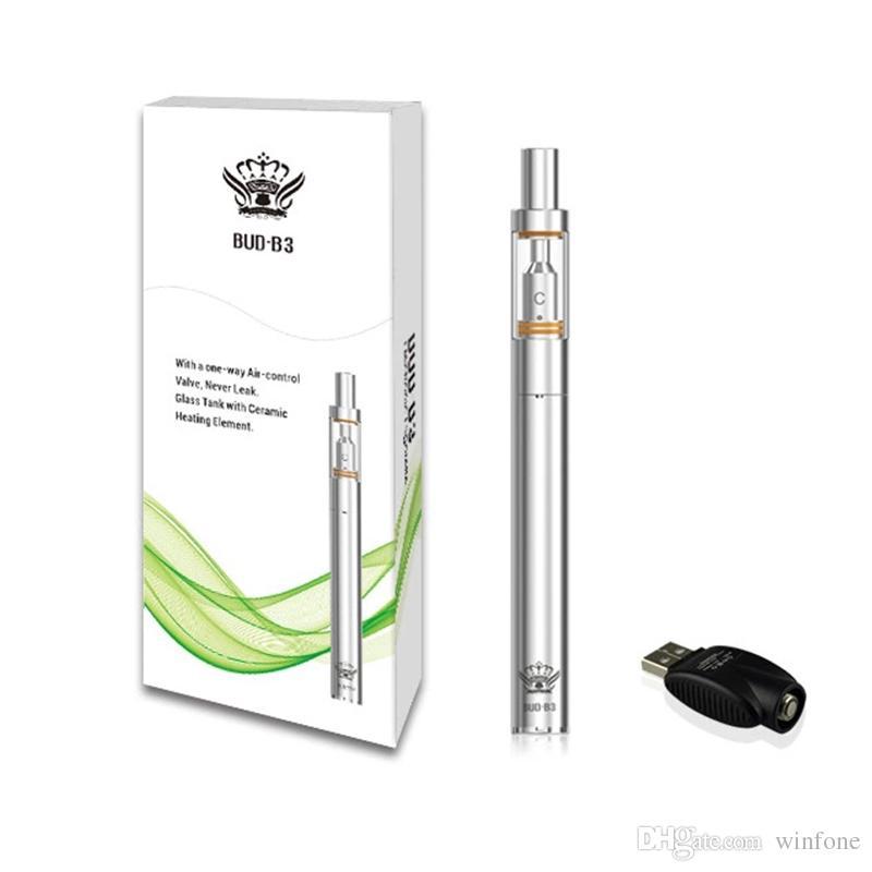 BUD B3+V3 Vaporizer Pen Kit Electronic Cigarette Vape Pen Starter Kits 290mAh 0.5ml Ceramic Tank