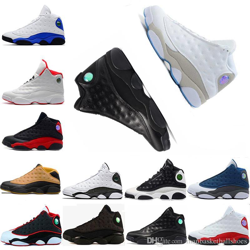 zapatos 13 chaussure de basket-ball homme de chat noir chaussure 13 baskets de sport de baskets de Chicago chaussures de sport CP3 PE