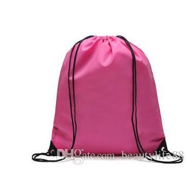 الرياضة النقية للرجال والنساء على ظهره حقيبة محمولة قابلة للطي الرباط الحقيبة حقيبة شاطئ حقيبة 30PCS