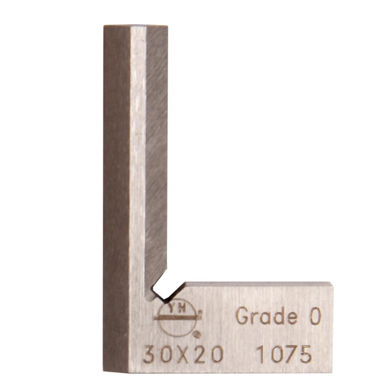 Freeshipping 30*20*6mm Angle Square Knife-Shaped Narrow Side Rectangular Device 90 Degree Grade 0 Stainless Steel Blade Measurement Tool
