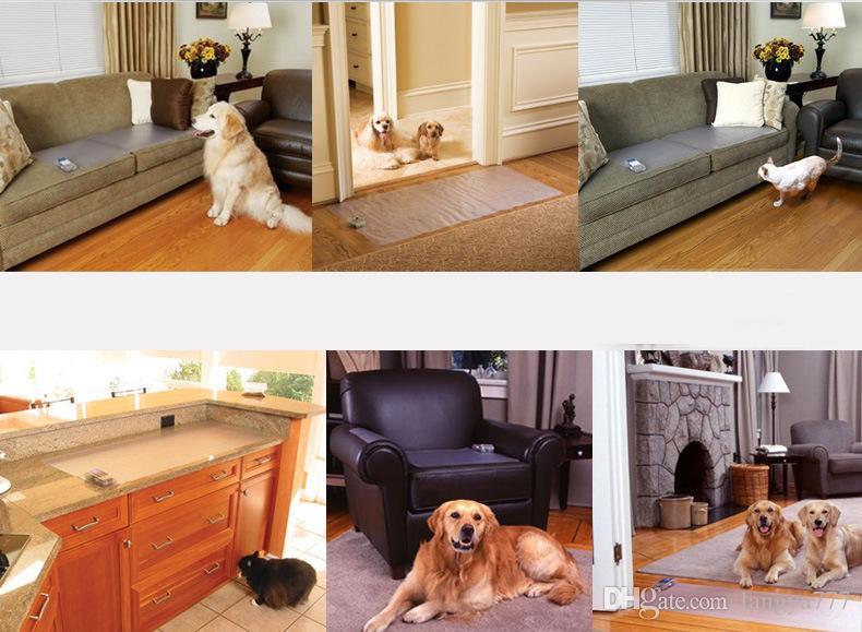 개 고양이 30 * 16 인치 00937에 대한 전자 애완 동물 정적 그대로 멀리 충격 매트 유용한 실내 애완 동물 훈련 매트